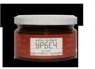 Урбеч из семян коричневого кунжута Живой Продукт