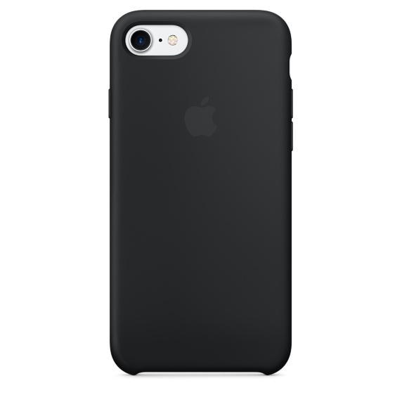 Cиликоновый чехол Apple  для iPhone 7/8 Black