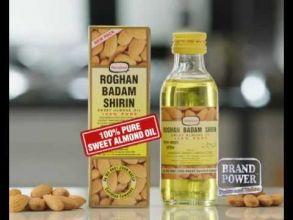 100% миндальное масло Roghan Badam Shirin 50 ml