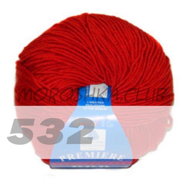 Красный Premiere BBB (цвет 532), упаковка 10 мотков