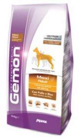 Gemon Dog Maxi корм для взрослых собак крупных пород курица с рисом  15 кг