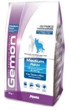 Gemon Dog Medium корм для взрослых собак средних пород тунец с рисом  15 кг