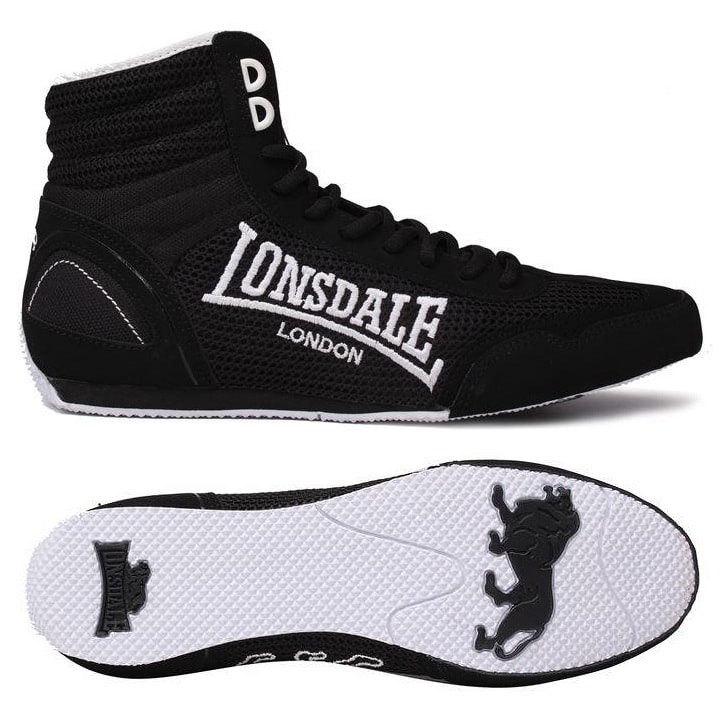 Боксерки Lonsdale Contender Low - Black