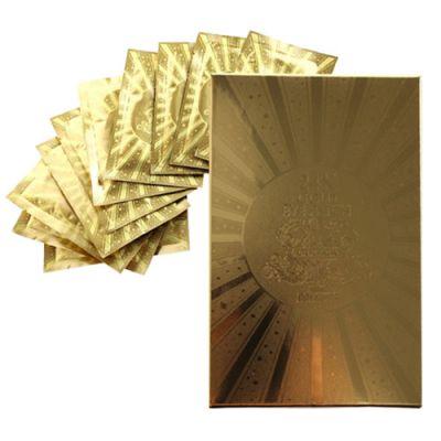 Корейский патч для глаз гидрогелевый с 24К золотом Baviphat 24K Gold Urban Dollkiss Agamemnon Hydrogel Eye Patch