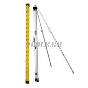 Инварная измерительная рейка Nedo 391189 - 1 м, шкала 19А (1см)