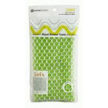 CLEAN&BEAUTY Eco Corn Shower Towel Мочалка для душа (25х100)