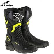 Мотоботы Alpinestars SMX-6 V2, Чёрно-жёлтые