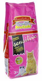 """Frank's ProGold для кошек с чувствительным пищеварением """"Ягненок по-голландски"""""""