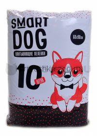 Smart Dog впитывающие пеленки для собак 60х90см