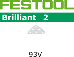 Шлифовальные листы STF V93/6 P180 BR2/100