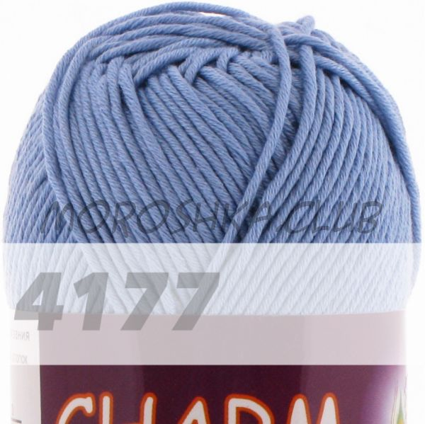 Лазурь Сharm VITA cotton (цвет 4177), упаковка 10 мотков