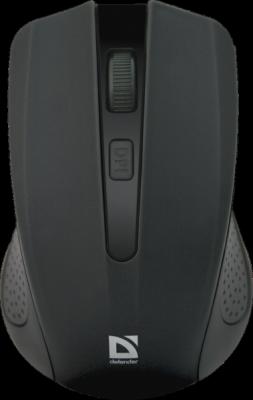Беспроводная оптическая мышь Accura MM-935 черный,4 кнопки,800-1600 dpi