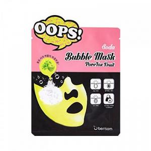 Корейская маска-пилинг для лица BERRISOM Soda Bubble Mask в ассортименте