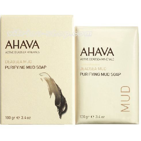 Ahava Мыло на основе грязи мертвого моря Deadsea Mud, 100 гр.