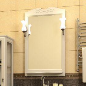 Зеркало с подсветкой Opadiris Клио 65 белый