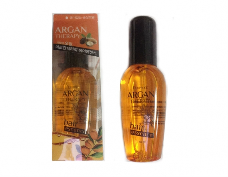 Корейская эссенция для волос с аргановым маслом DEOPROCE ARGAN THERAPY HAIR ESSENCE