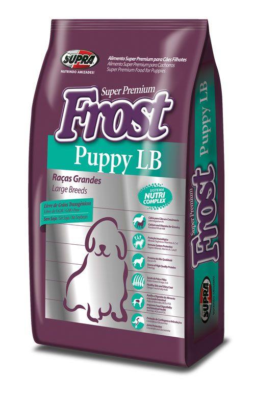 SUPRA FROST Puppy LB для щенков крупных пород 3 кг