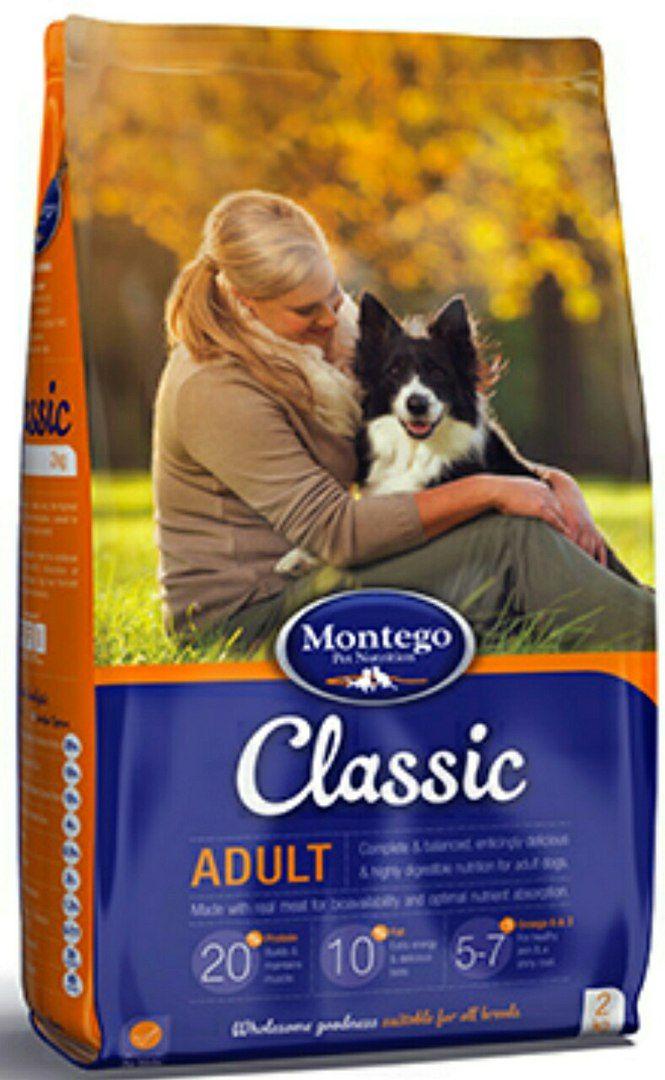 MONTEGO Classic для взрослых собак 25 кг