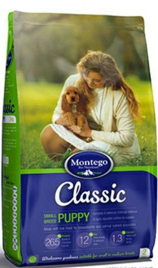 MONTEGO Classic для щенков мелких пород 5 кг