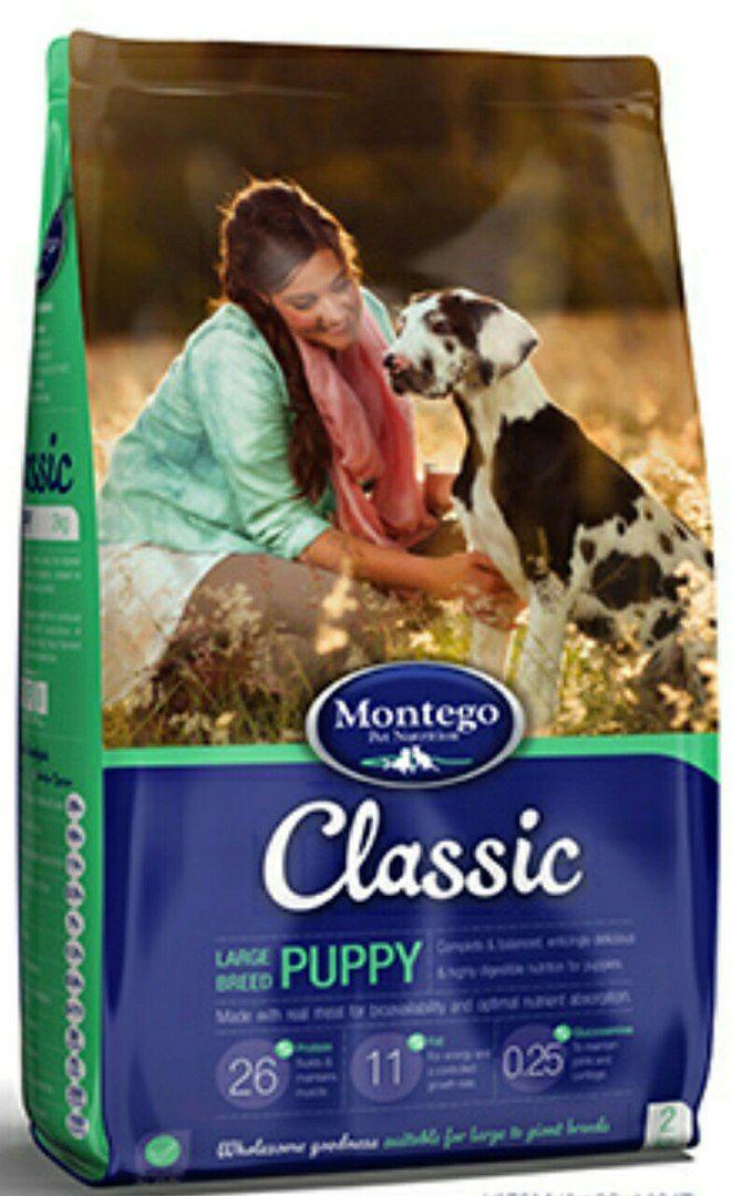 MONTEGO Classic для щенков крупных пород 25 кг