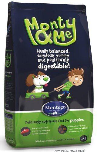 MONTEGO Monty&Me Для щенков всех пород 10 кг
