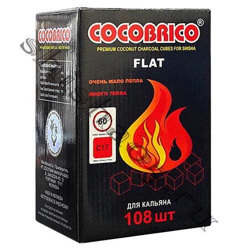 Уголь CocoBrico - FLAT 22-25 мм³ (108куб)