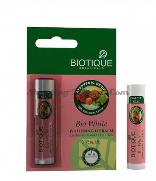 Отбеливающий бальзам для губ Биотик | Biotique Bio White Whitening Lip Balm