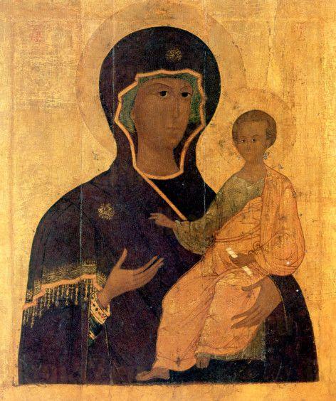 Смоленская икона Божией Матери (копия 16 века)