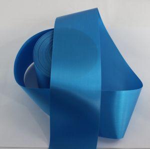`Лента САТИН, ширина 65 мм, цвет голубой