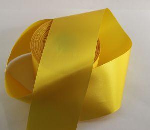 `Лента САТИН, ширина 65 мм, цвет желтый