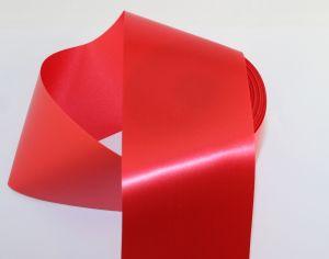`Лента САТИН, ширина 80 мм, цвет алый