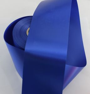 `Лента САТИН, ширина 80 мм, цвет синий