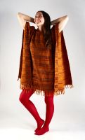 Теплое женское пончо с капюшоном, купить в Москве, интернет магазин