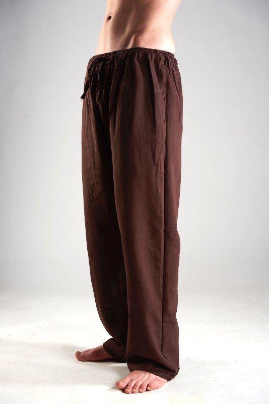 Мужские прямые штаны из органического хлопка (Москва)