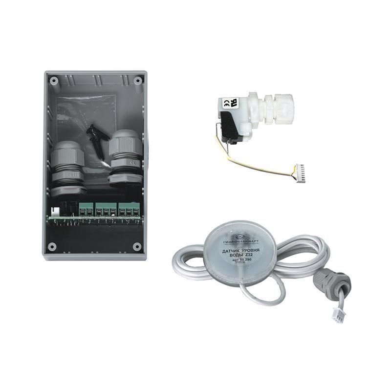 Контроллер защиты от сухого пуска в корпусе со свичом