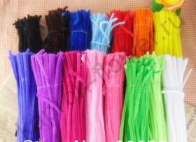 Пушистая проволока (синельная) - одноцветная
