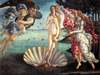 Рождение Венеры ( Репродукция Сандро Боттичелли)