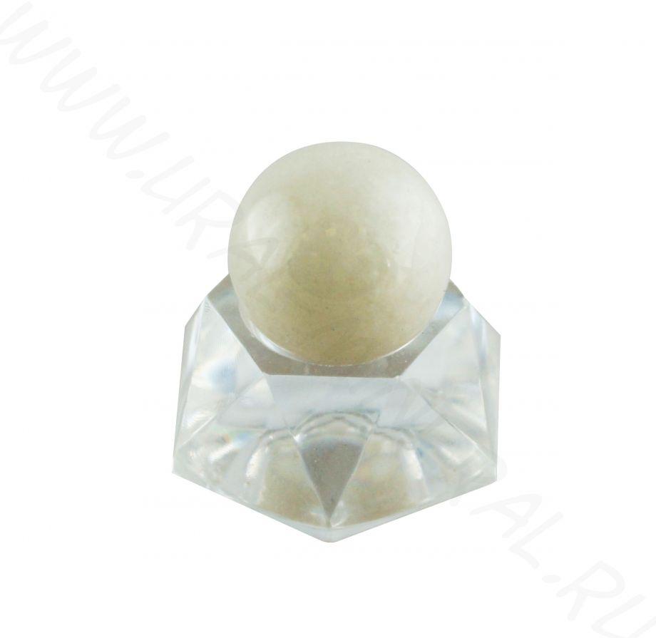 Шар (20 мм) - Молочный кварц