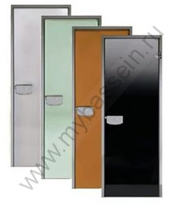 "Дверь ALU 7*19 (Harvia) алюминий, стекло ""бронза"""