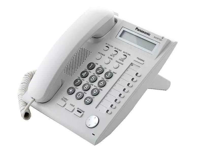 Системный телефон Panasonic KX-DT321RU б/у
