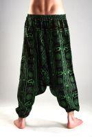 Мужские индийские штаны афгани с символами ОМ, интернет магазин