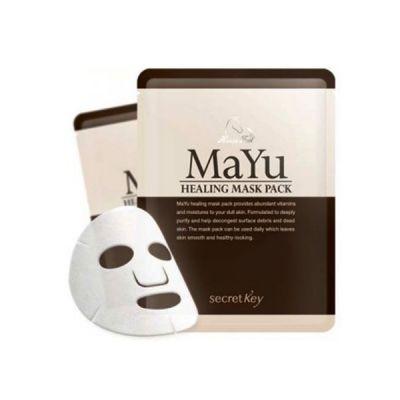 Корейская маска для лица питательная Secret Key MAYU Healing Mask Pack