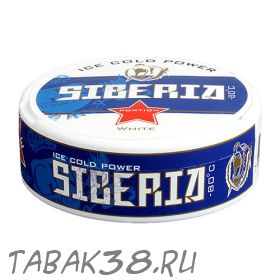 Табак жевательный Chew Bags Siberia White -80 Portion 20г