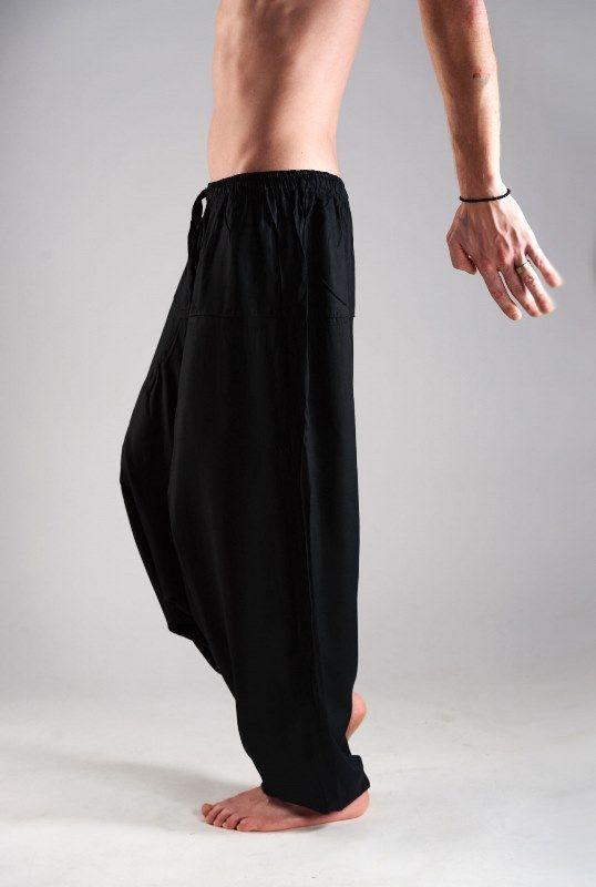 Индийские штаны афгани с узким поясом, вискоза
