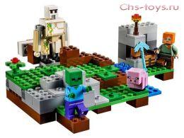 Конструктор LEPIN Minecraft Железный голем 18001 (Аналог LEGO Minecraft 21123) 162 дет