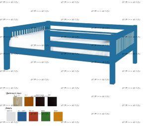 Кровать Кроха (Малыш) массив (МХ), 2 размера