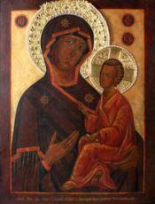 Тихвинская икона БМ (копия старинной)
