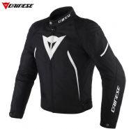 Куртка Dainese Avro D2 Tex текстильная, Чёрно-белая