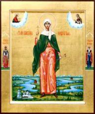 Виктория Кордубская (рукописная икона)
