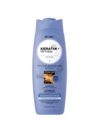 KERATIN+ пептиды ШАМПУНЬ для всех типов волос 500 мл.